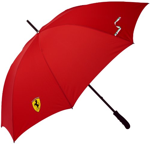 FERRARI Scudetto Golf Regenschirm Umbrella rot Formel1 Team Modell 2012