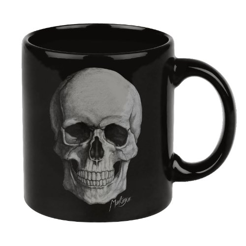 Shopping!: Taza de Cafe con Hard Rock Gothic Skull Cráneo