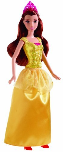 Disney Princess Sparkling Princess Belle Doll - 1