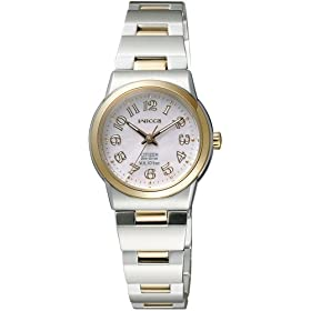 【クリックで詳細表示】[シチズン]CITIZEN 腕時計 wicca ウィッカ マリンウィッカ Eco-Drive エコ・ドライブ NA15-1401C レディース