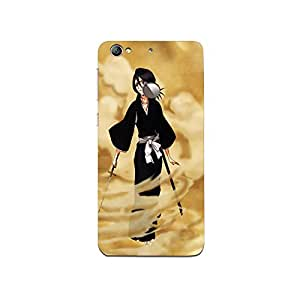 Mikzy Samurai Girl With Sword Printed Designer Back Cover Case for LeTv Le 1s