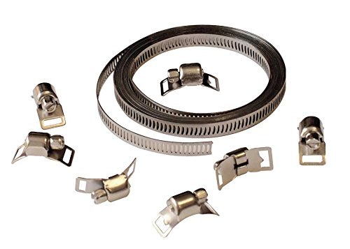 Cora 000120743 Universal Strip, 3 m, with 8-Clip Close