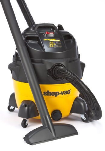 Shop-Vac 9551600 6.5-Peak HP Ultra Pro Series Wet or Dry Vacuum, 16-Gallon