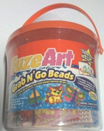 Elmers Fuze Art Grab N' Go Beads Bucket