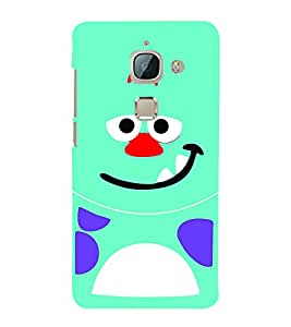 Smile Cute Eyes 3D Hard Polycarbonate Designer Back Case Cover for LeEco Le Max 2 :: Letv Le Max 2