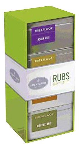 Fire & Flavor Rubs Gift Set