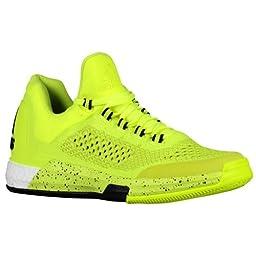 adidas Performance Men\'s 2015 Crazylight Boost Primeknit Shoe,Solar Yellow/Solar Yellow,10.5 M US