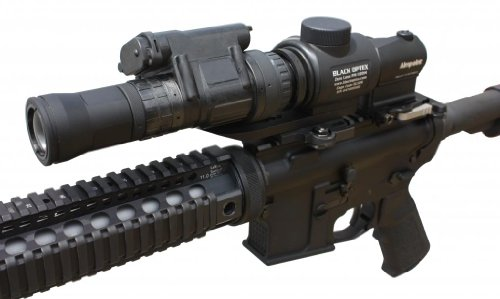 Zero Lens Day/Night Sighting System W/ Gen 3 Pvs-14 (Hog Hunter'S Dream)