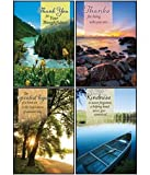 Scenic Views - Scripture Greeting Cards - KJV - Boxed - Thank You