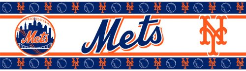 Best Quality Accessories Wall Border - New York Mets MLB /Color Multi Size 05 X 15 at Amazon.com