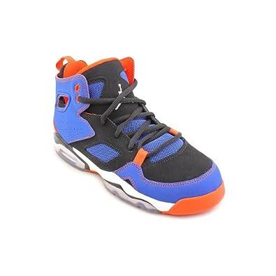 Amazon.com: Jordan FltClb '91 Youth Boys Size 6 Blue Basketball Shoes