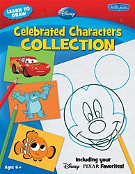 LEARN TO DRAW DISNEY PIXAR CHARACTERS COLLECTION