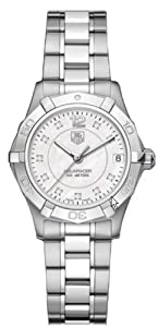 "TAG Heuer Women's WAF1312.BA0817 ""Aquaracer"" Stainless Steel and Diamond Watch"