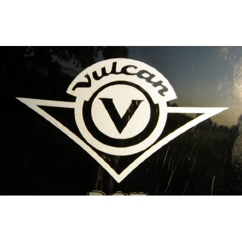 Kawasaki Vulcan die cut vinyl decal / sticker 8 5/8 x 5