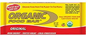 Organic Food Bar Original, 12 Count
