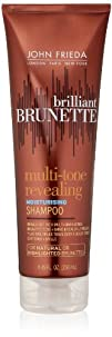 John Frieda Brilliant Brunette Multi-tone Revealing Moisture Shampoo for Natural or Highlighted…