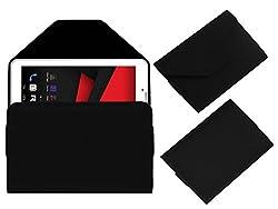 Acm Premium Pouch Case For Revolt Nx1 Tablet Flip Flap Cover Holder Black