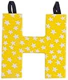 JoJo Maman Bébé B1491PRIH - letra H en el tejido, el color primario