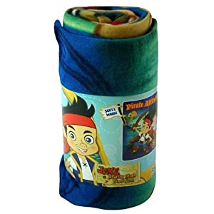Fleece Throw - Disney - Jake and the Neverland Pirates - 45