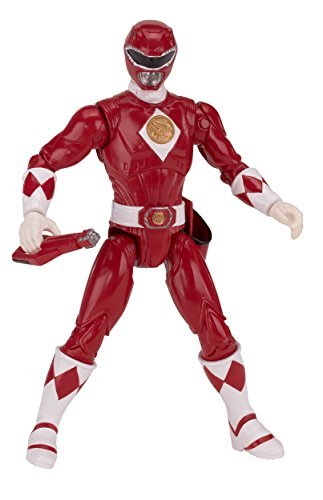 Mighty Morphin Power Rangers The Movie Exclusive Action Figure Red Ranger 5 Inches