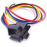 Absolute SRS105 5-Pin 12 VDC Relay Socket Interlocking Style