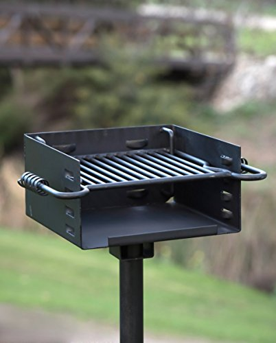 Heavy-Duty-Park-Style-Charcoal-Grill