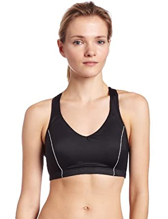 Moving Comfort Women's Vixen C/D Bra (Black, X-Small)