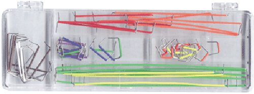 Elenco  70 Piece Pre-formed Jumper Wire Kit - 1