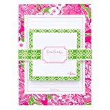 Lilly Pulitzer Sticky Notes with Lilly Pad Set - May Flowers