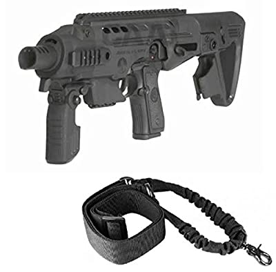 CAA Command Arms Accessories RONICZ7 RONI-CZ7 For CZ Duty 07 Pistol Models + Ultimate Arms Gear Sling, Black