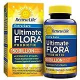 Renew Life Ultimate Flora Extra Care Probiotic 150 Billion (formerly Mega Potent), 30 Count