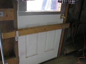 Amazon.com : Drop Open Bar Security Door Lock Brackets ...