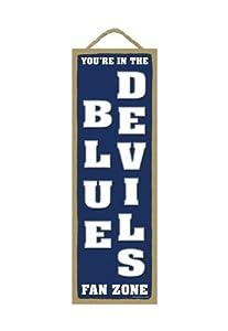 Buy Duke Blue Devils Fan Zone Wood Sign by Hall of Fame Memorabilia