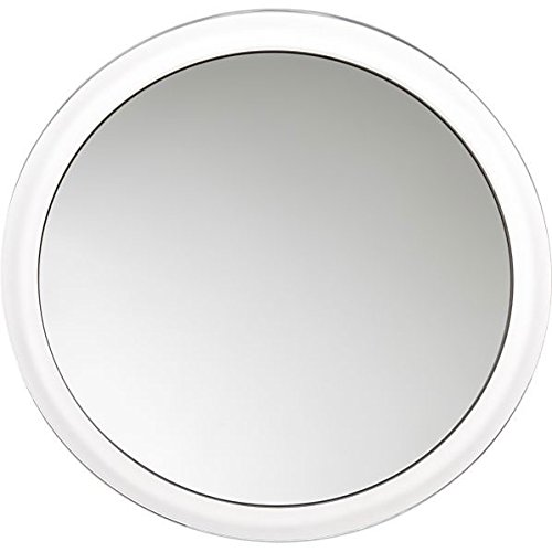 "Fog-Free Suction Cup Mirror 9"" Diameter 5X Magnification front-959240"