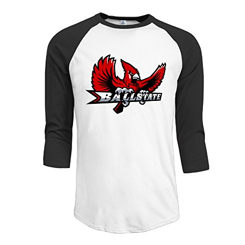 GinaR-Men-Middle-Sleeve-Ball-State-University-New-Design-Bottoming-Shirt