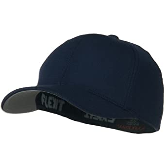 Flexfit Cool and Dry Pique Mesh Cap - Navy