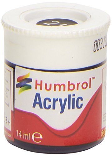 Humbrol Acrylic Paint, Black