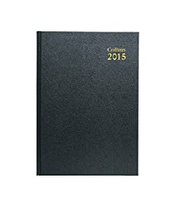 Collins 2015 Early Edition A4 Day to a Page Diary - Black