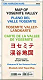 Map of Yosemite Valley