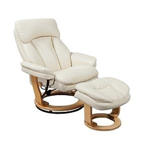 Birlea Iowa Swivel Chair, Cream