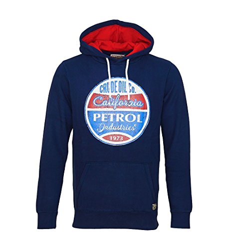 Petrol Industries M-fw16-swh360-Felpa Uomo    blu XXXL