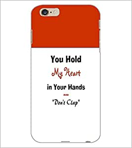 PrintDhaba Quote D-5968 Back Case Cover for APPLE IPHONE 6 (Multi-Coloured)