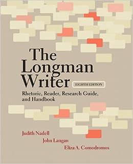 Longman reader essays