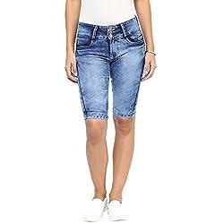 Gofab Stretchable Slim Fit Shorts