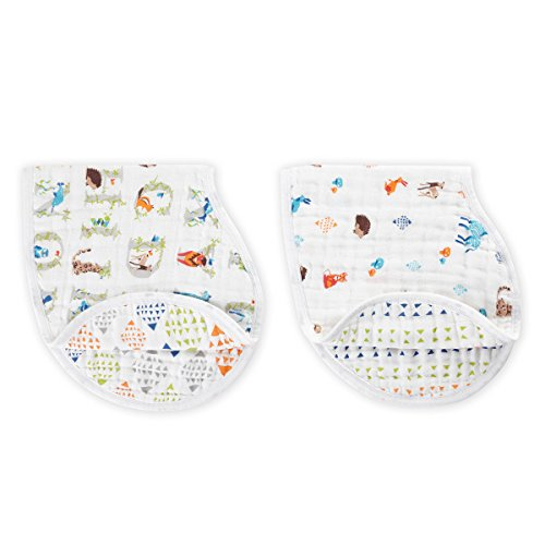 Aden + Anais - Paper Tales 2 Pack Classic Burpy Bibs