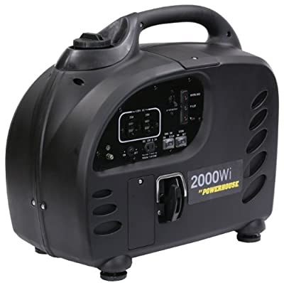Powerhouse 60376 Inverter Generator, 2000-Watt, CARB Compliant