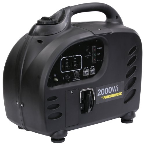 Powerhouse 60376 Inverter Generator, 2000-Watt (CARB Compliant)