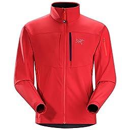 Arc\'teryx Gamma MX Softshell Jacket - Men\'s Diablo Red, XXL