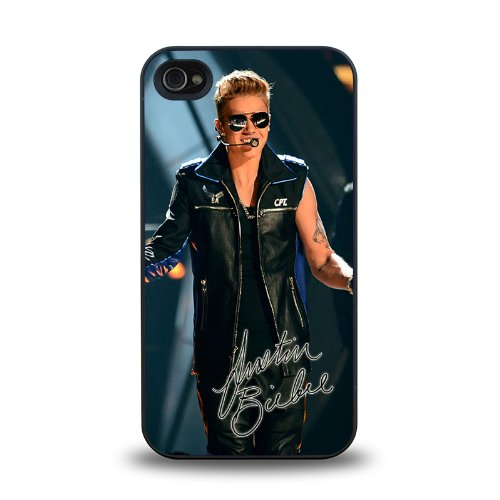 Iphone 4 4S Case Protective Skin Cover With Pop Star Justin Bieber Jb Cool Design #8