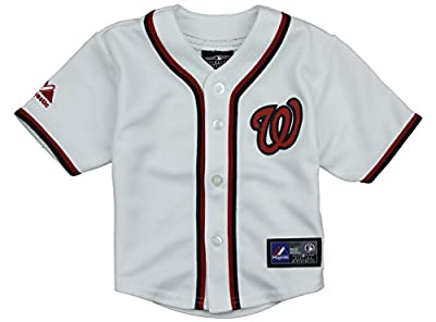 Washington Nationals MLB Infants Home Replica Jersey - White